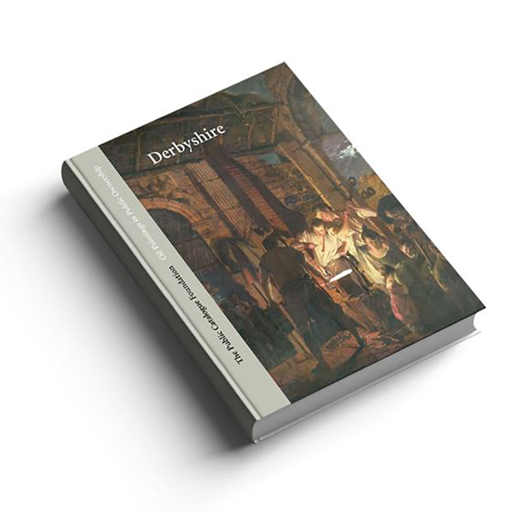 Oil Paintings in Public Ownership in Derbyshire book cover