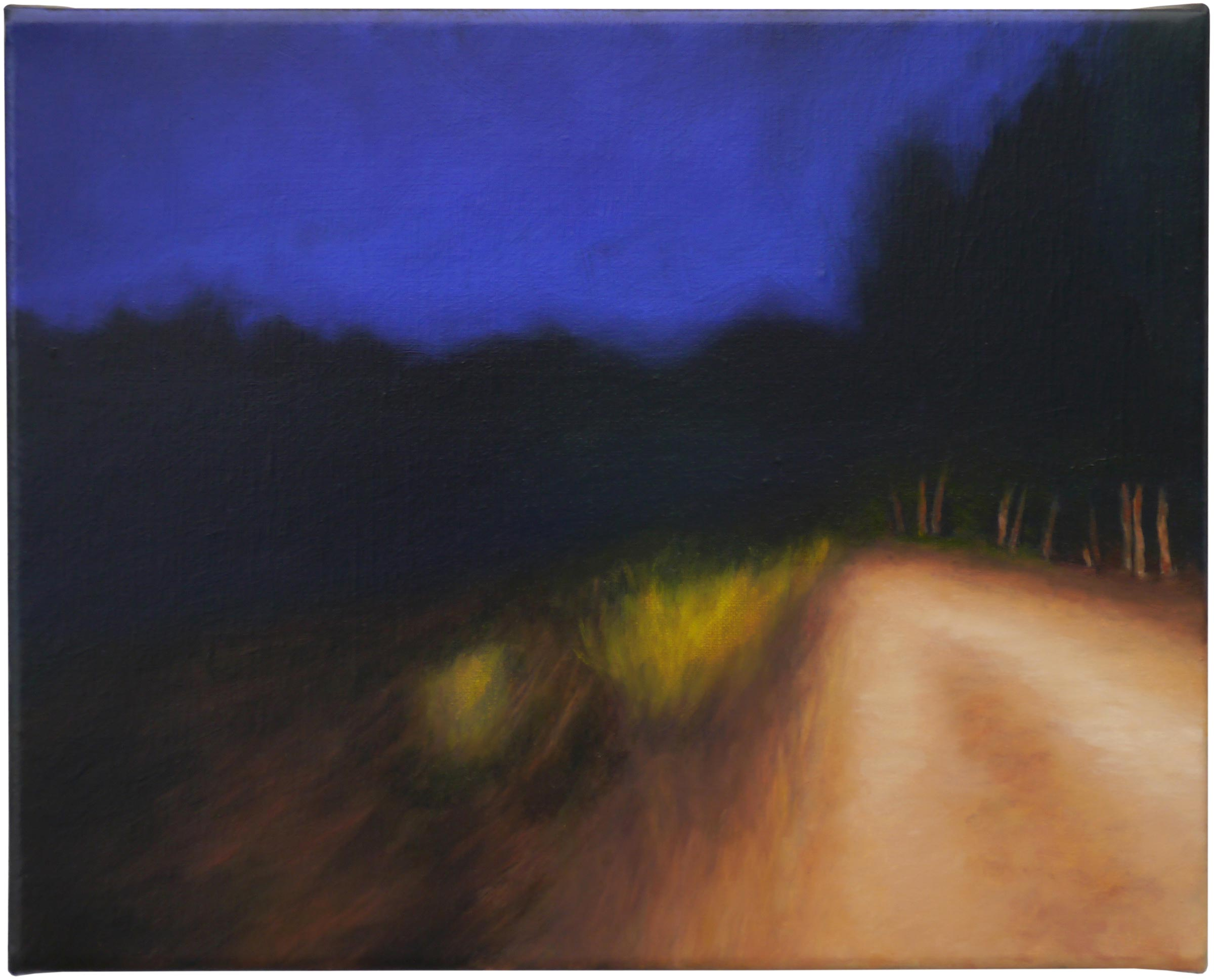 The shadows beyond 2, oil on linen, 30cm x 24cm, 2021