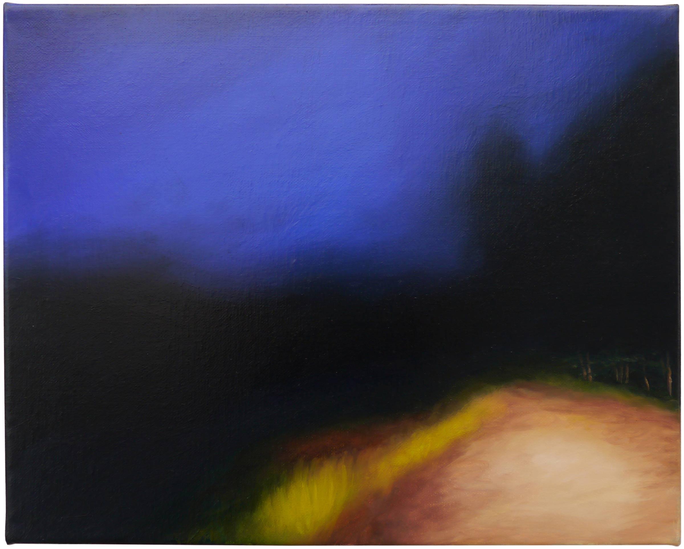 The shadows beyond 3, oil on linen, 30cm x 24cm, 2021