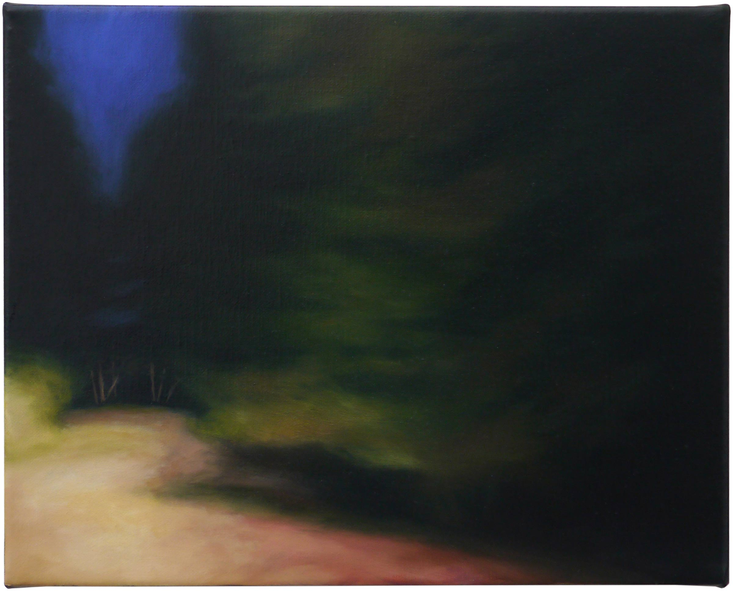 The shadows beyond 4, oil on linen, 30cm x 24cm, 2021
