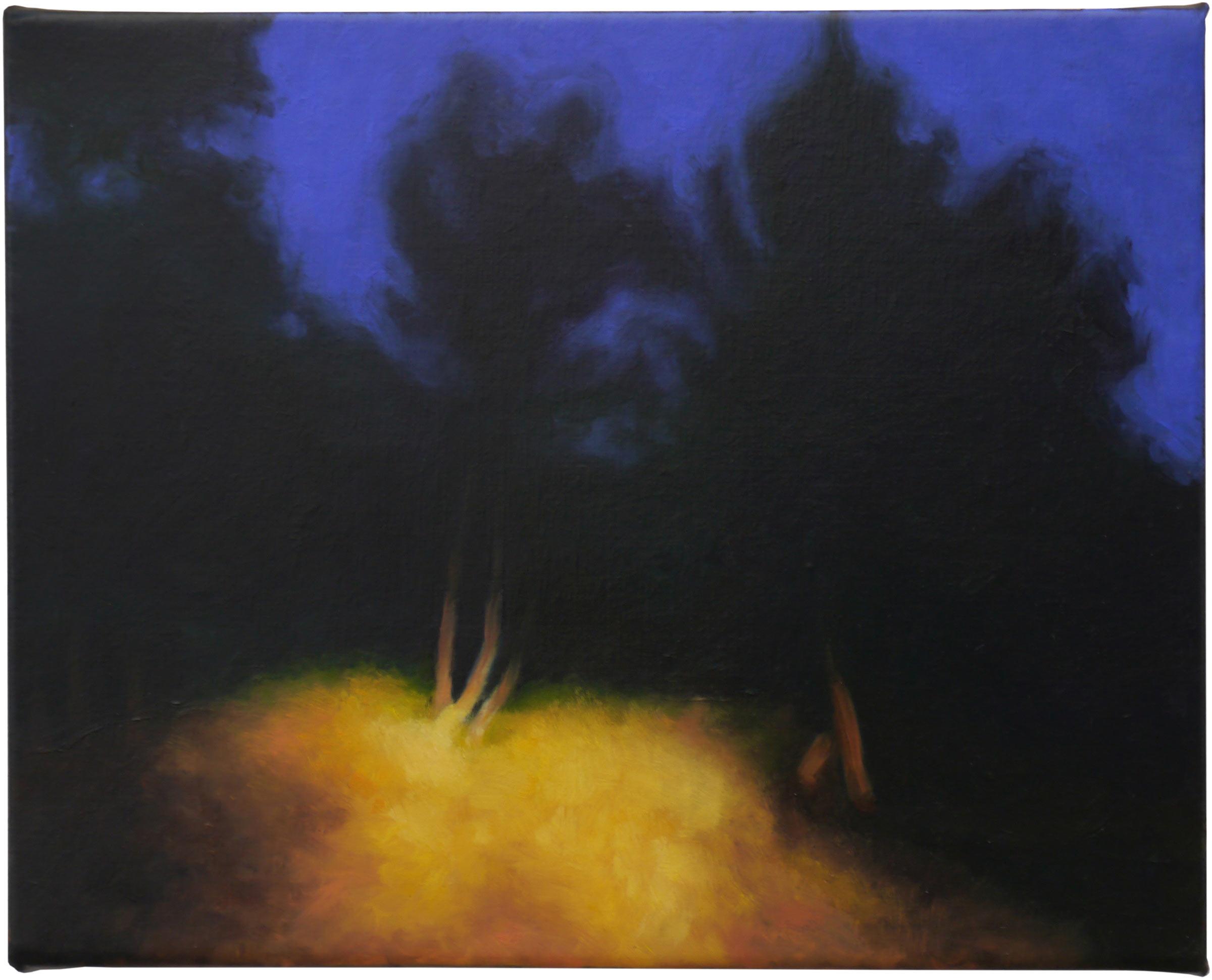 The shadows beyond 5, oil on linen, 30cm x 24cm, 2021